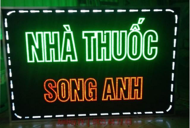 Làm Bảng Hiệu Led Đổi Màu Ở Đà Nẵng 0905755597 Anh Huy TV