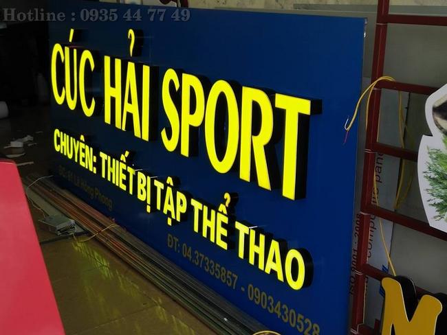 Làm Bảng Hiệu Quảng Cáo Led Alu Mica Tại Đà Nẵng 0905755597 Anh Huy TV