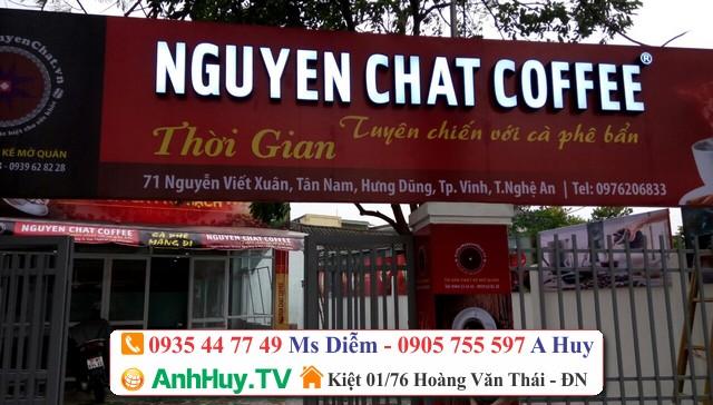 Làm bảng hiệu quán cafe tại đà nẵng 0706755597 Xuân Diễm