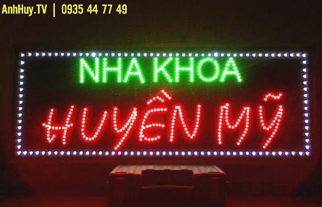 Làm bảng đèn LED ma trận Giá Rẻ Đà Nẵng Anh Huy TV 0706755597