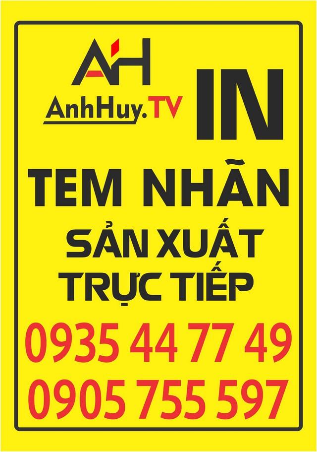 In Decal Tại Đà Nẵng Giá Rẻ Anh Huy TV 0935447749